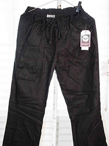 Pantalon De Manta Blanco/negro Roxy 100%original