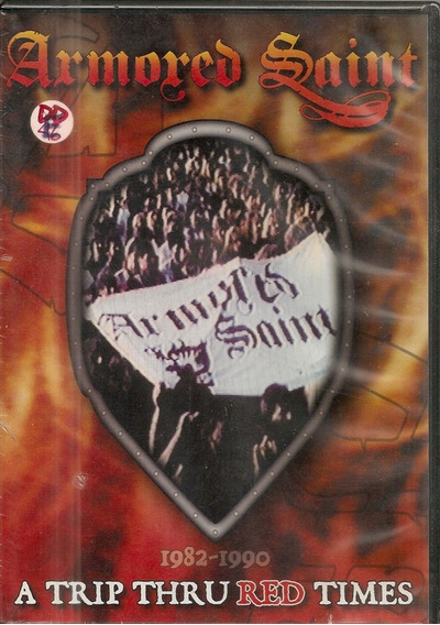 Armored Saint - A Trip Thru Red Times Dvd Lacrado Anthrax