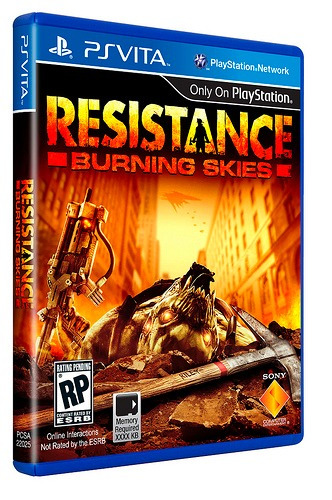 Resistance Burning Skies - Ps Vita - Só P/ Fortaleza