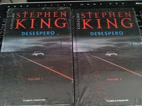 Livro Stephen King Desespero - Lacrado - Vol. 1 E Vol.2