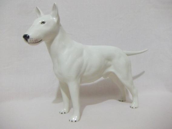 B. Antigo - Cachorro Bull Terrier Em Porcelana Beswick