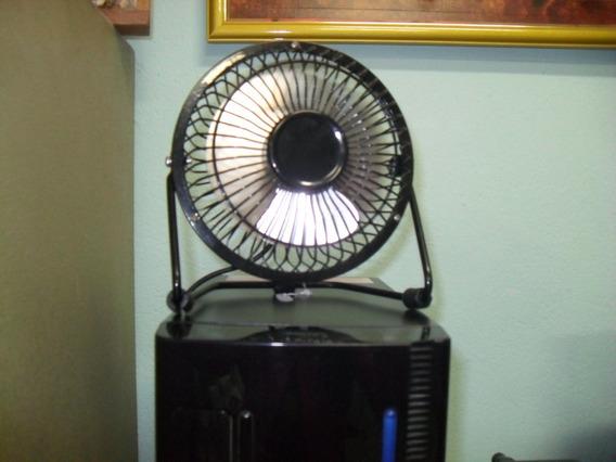 Mini Ventilador Ideal Para Quem Fica No Pc Dia Todo, Liga Us