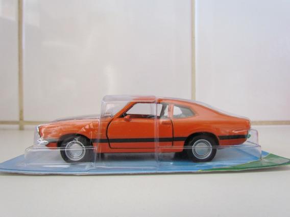 Coleção Carros Brasileiros - Maverick Gt (1974)-escala 1/38
