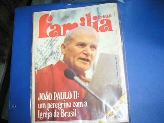 Revista Com Autográfo Do Papa João Paulo Ii Original 1980