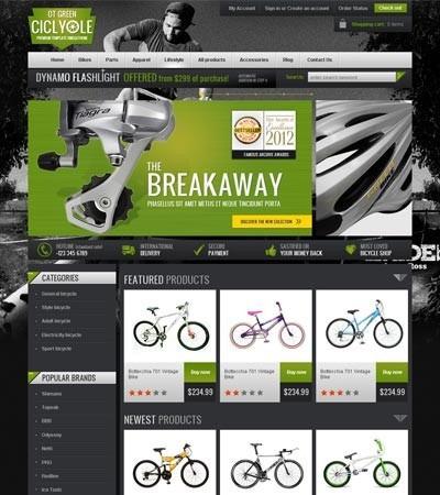 Site Em Virtuemart Joomla Para Loja De Bicicletas - Mod J419