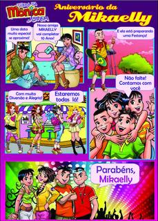Convite Em Quadrinhos Turma Da Mônica Jovem