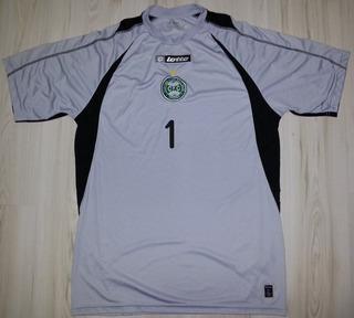Camisa De Jogo De Goleiro Do Coritiba # 1- Lotto - Tam Gg
