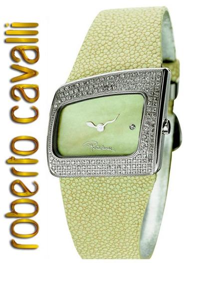 Roberto Cavalli Relogio Feminino Ivory Diamond R7251102993