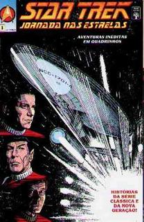 Hq Star Trek Jornada Nas Estrelas Nº 1 - Abril Jovem - 1991