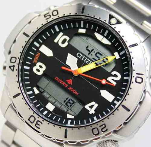 Citizen Jp3040-59e Aquamont Jp3040 Citizen Aquamont