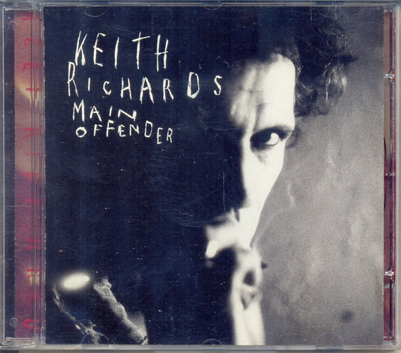 Cd Keith Richards - Main Offender - 1992 - Rolling Stones