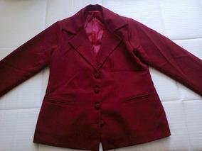 Terno Feminino Vermelho Escuro - Frete Grátis
