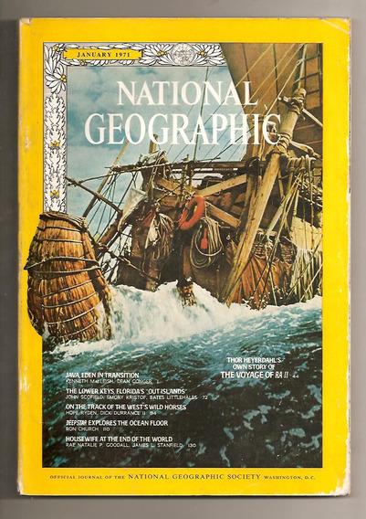 National Geographic - Janeiro 1971
