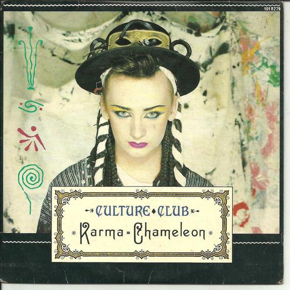Culture Club - Karma Chameleon - Compacto De Vinil