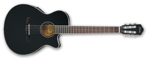 Imagen 1 de 5 de Guitarra Criolla Ibanez Aeg8 Tnebkf Con Ecualizador Afinador