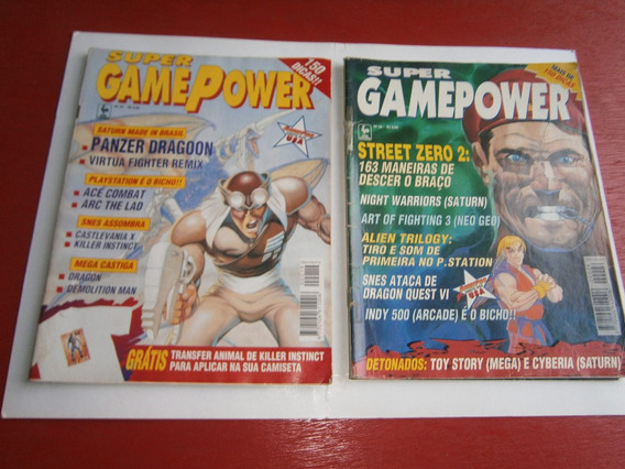 Super Game Power Antigas E Raras R$ 8,00 Cada