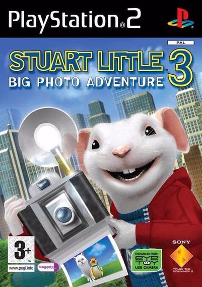 Stuart Little 3 Big Adventure Play 2 (frete Grátis)