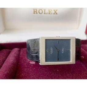 Rolex Cellini Ouro Branco , Impecável , Todo Original , Raro