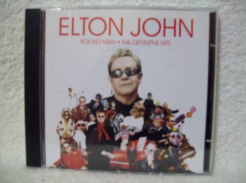 Cd Original Elton John- Rocket Man- The Definitive Hits