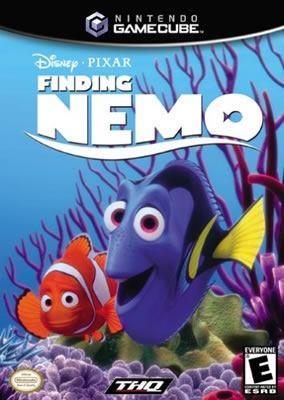 Game Cube Finding Nemo - Procurando Nemo - Original - Usado