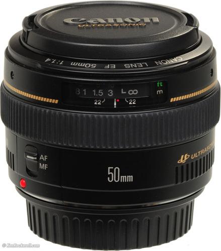 Imagem 1 de 6 de Lente Canon 50mm F/1.4 F1.4 Usm Profissional