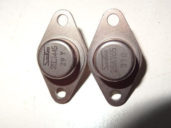 Transistor 2sc1445 2sa765 To-66 Luxmam Sansui Jvc Marantz