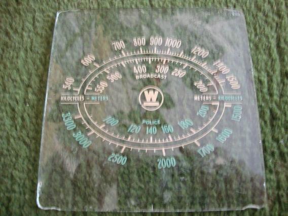 Dial De Rádio Antigo Marca W Police