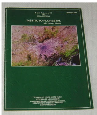 Revista Instituto Florestal São Paulo José Luiz Timoni