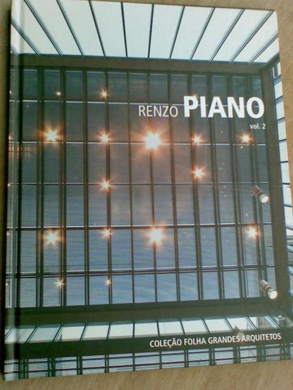 Livro Renzo Piano Matteo Agnoletto Coleção Folha Grandes