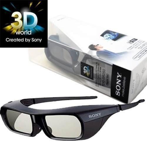 Oculos 3d Sony Tdg-br250/b Preto Original