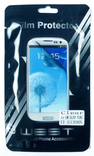 Imagen 1 de 2 de Film Para Celular Plastico Samsung Galaxy Young E5050