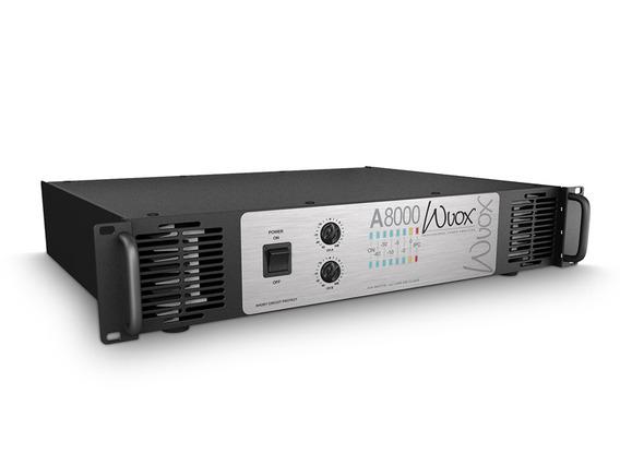Amplificador Machine Wvox A8000 Frete Grátis Para E Nf