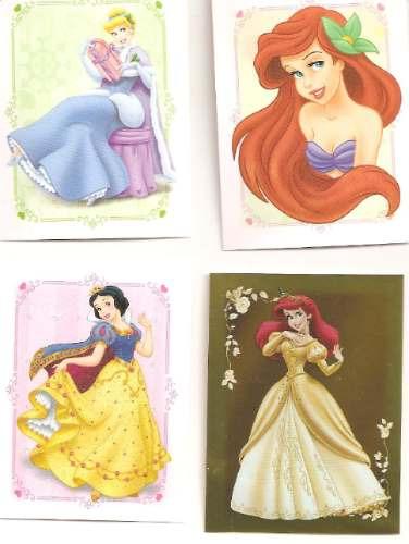 Figurinhas Princesas Disney Sonhos Dourados - 2ª Edição