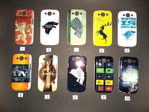 Case De Samsung Galaxy S3  (acrílico) Game Of Thrones