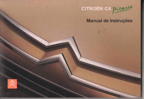 Manual Proprietário Citroen C4 Picasso 2008