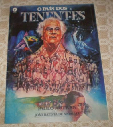 Press Release - O País Dos Tenentes 1987 Paulo Autran Cinema