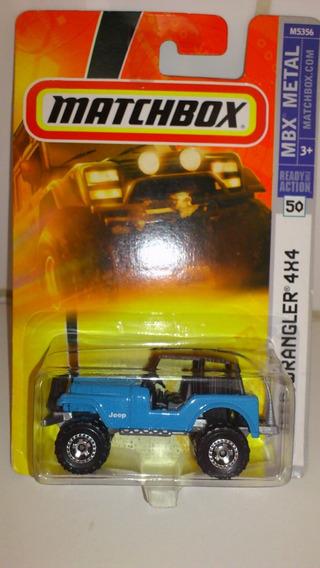 Matchbox Jeep Wrangler 4 X 4