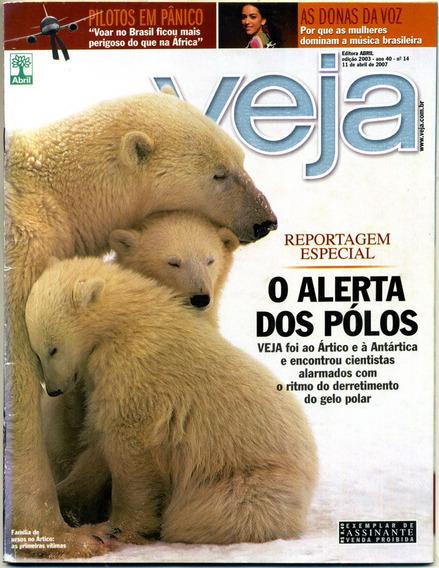 Veja Nº 2003 - 11 De Abril De 2007