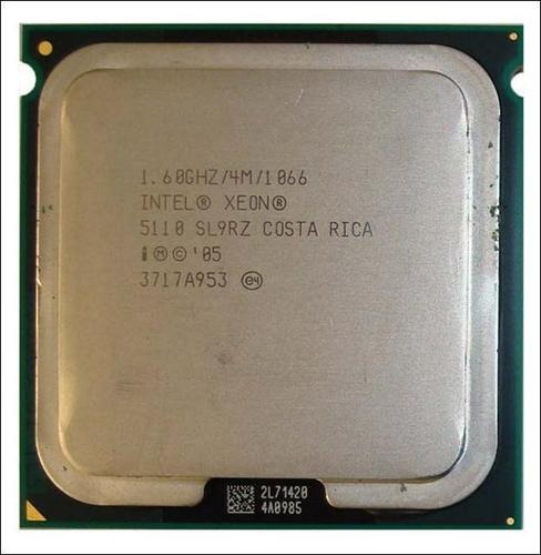 Intel Xeon Dual Core 5110 1.6ghz 4m 1066mhz Socket 771 Kit 2