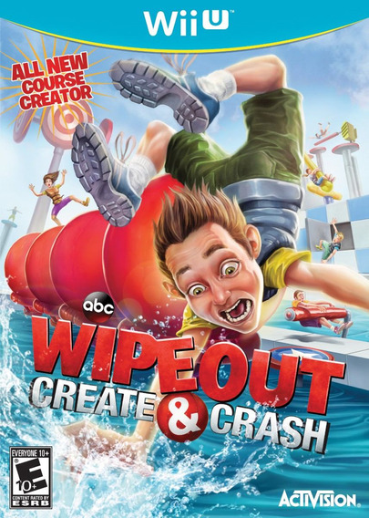Jogo Lacrado Wipeout Create & Crash Para Nintendo Wii U