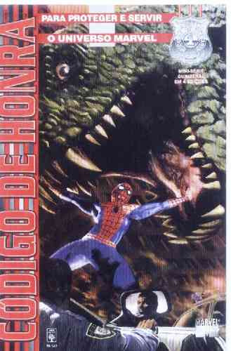 Aranha Justiceiro Demolidor X-men Em Código De Honra