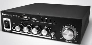 Fullenergy Eq30 Amplificador Hogar Auto Publicidad 220v 12v