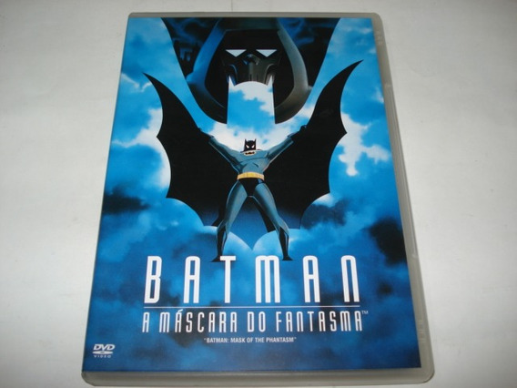 Dvd Infantil Batman A Mascara Do Fantasma