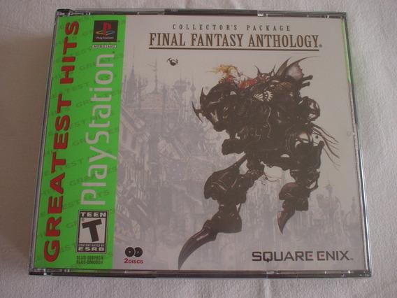 Playstation 1 : Final Fantasy Antology Novo Lacrado Usa