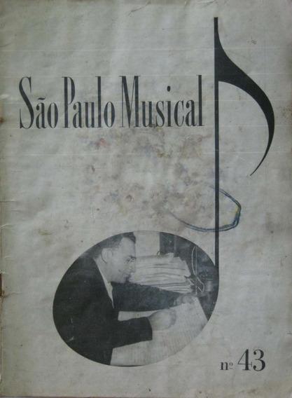 Revista São Paulo Musical Nº 43 Ano 1954