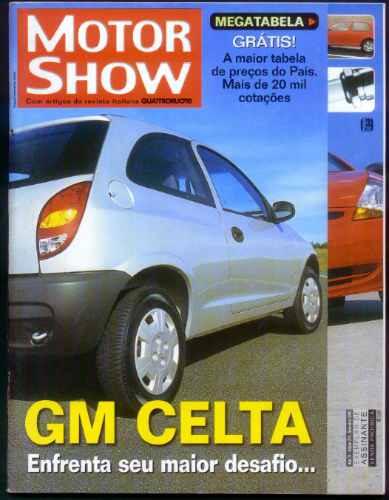 Motor Show - Set/2000 - Palio X Gol X Ka