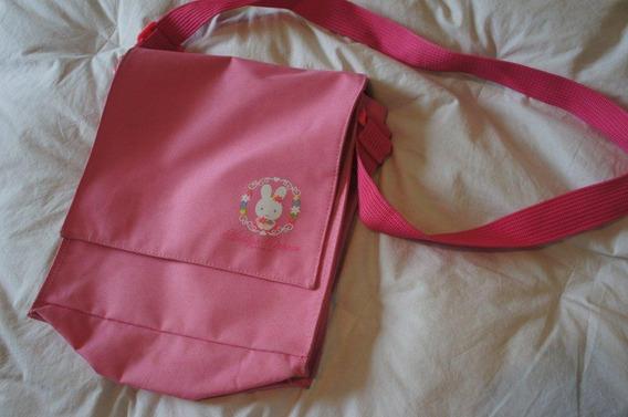 Bolsa Carteiro Rosa Kiddy