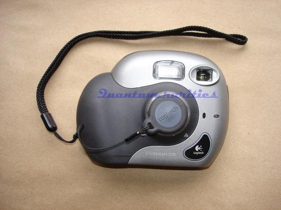 Web Cam Logitech Quick Smart 510 1.3 Mega Usada Funcionando
