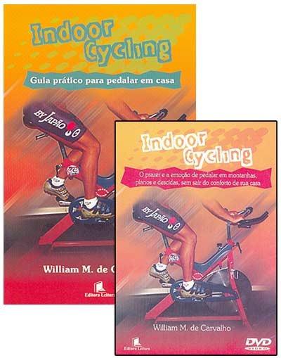 Livro - Indoor Cycling + Dvd - Pedale Em Casa