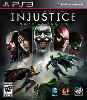 Injustice: Dioses Entre Nosotros Juego Ps3 Original